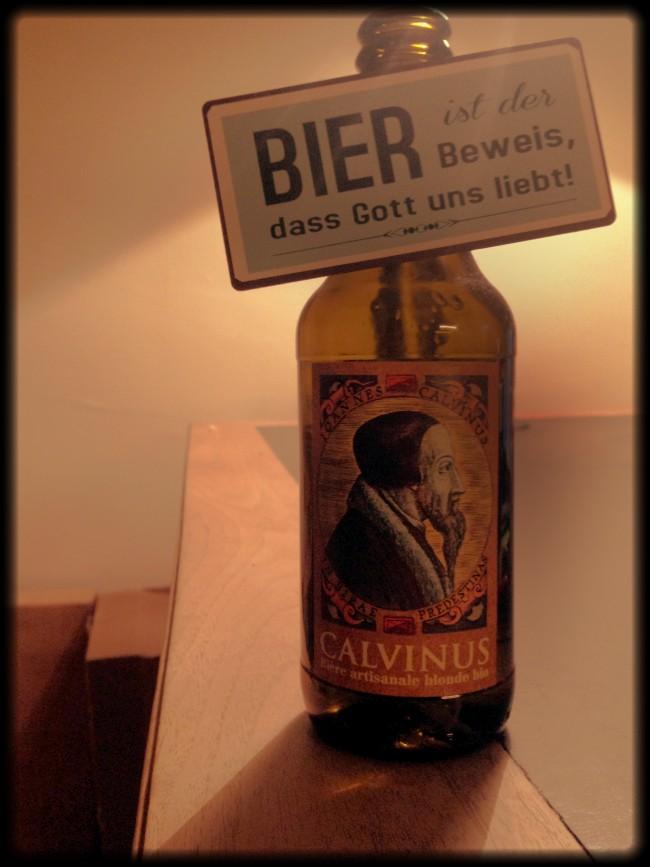 Foto: Bier ist der Beweis, dass Gott uns liebt
