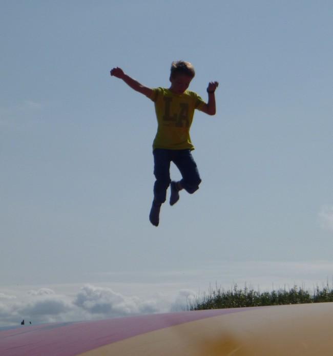 Foto: Wenn ich springe, dann springe ich…
