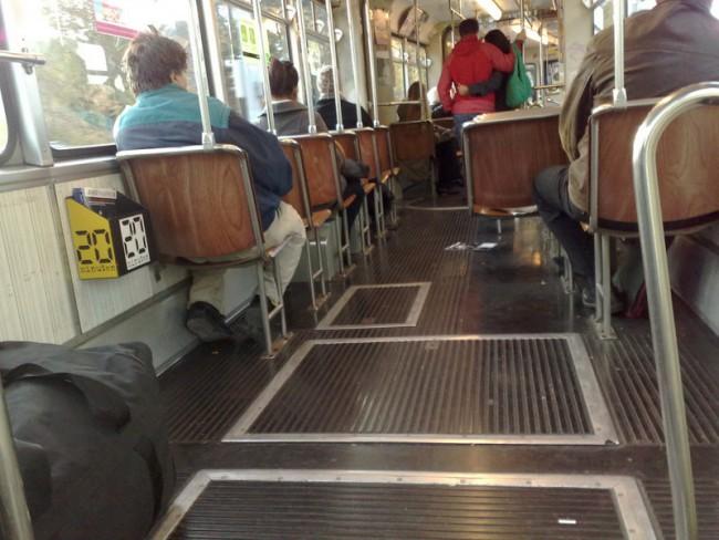 Foto: Neulich im Tram