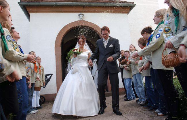 Foto: Hochzeiten und kleine Pannen