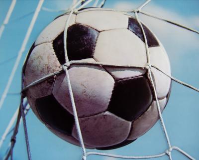 """Foto: """"Der Ball ist rund"""" oder, """"…alles ist immer möglich"""""""